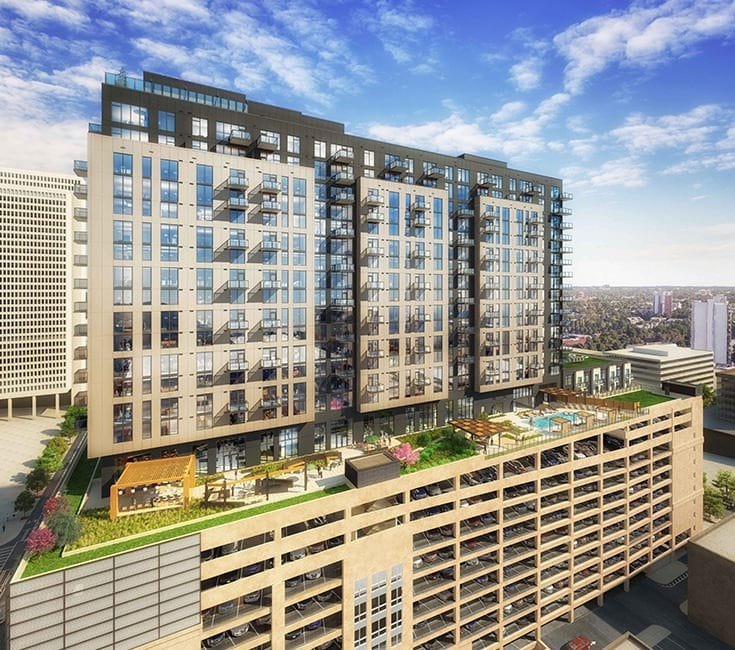12th Floor Townhomes with Terraces