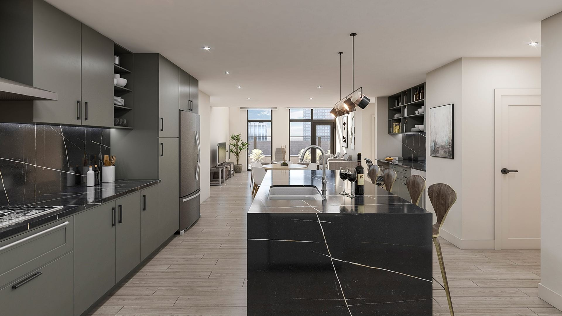 Luxe Townhome Residences